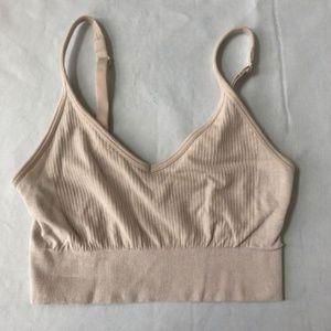 61de063b1e4e91 SPANX Intimates   Sleepwear - Spanx Womens Multi Soft Bra Beige Size Medium